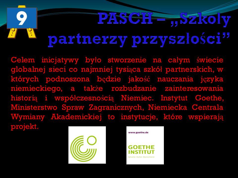 26.11.2009 – 30.11.2009 Spotkanie Szkó ł PASCH z SP 9, Gimnazjum 12, Gimnazjum z Tr ą bek Wielkich oraz uczniów z Litwy.