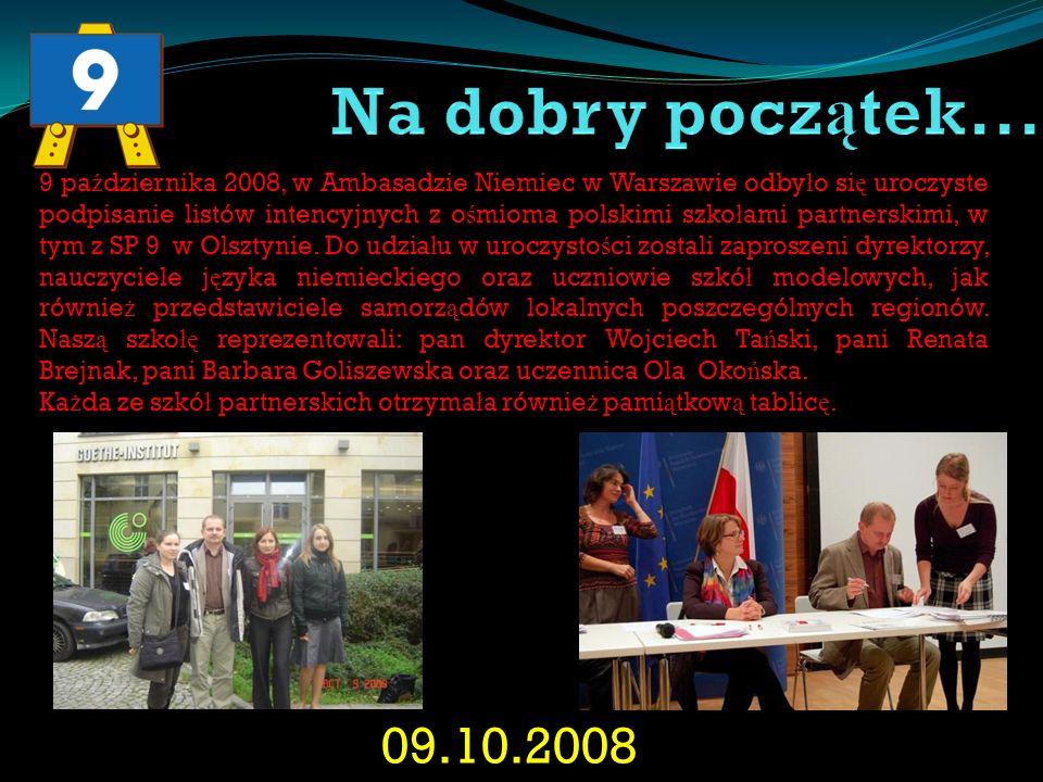 23.11.2008 – 29.11.2008 W Berlinie spotkali si ę dyrektorzy wszystkich szkó ł PASCH.