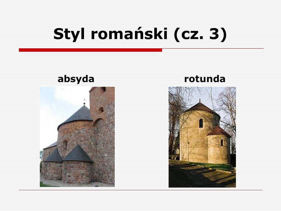 Styl gotycki (cz.1) Panował w architekturze i sztuce w dojrzałymi i późnym średniowieczu.