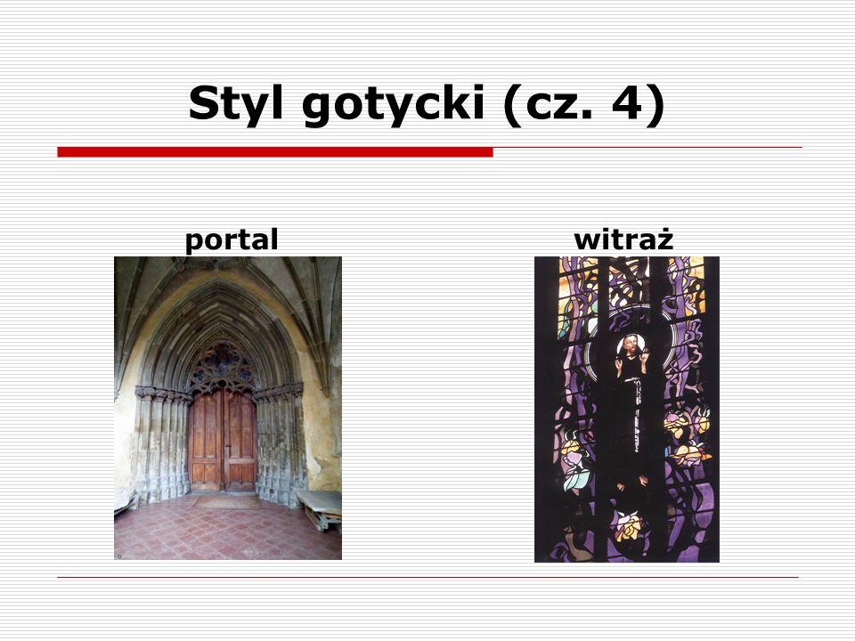 Styl gotycki (cz. 5) przyporyrozeta