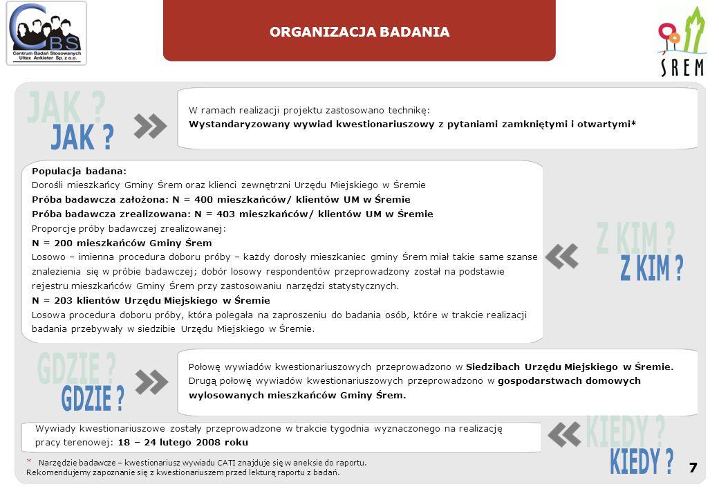 RAPORT Z BADAŃ : Katarzyna Rudzik katarzyna.rudzik@ankieter.com.pl@ankieter.com.pl tel.