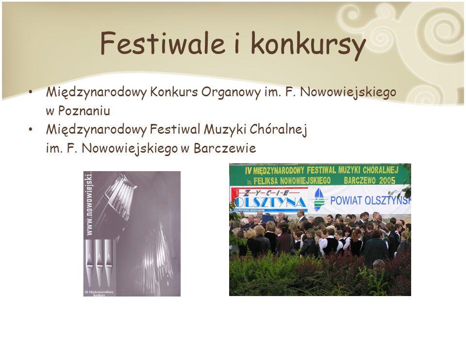 Festiwale i konkursy Międzynarodowy Konkurs Organowy im.