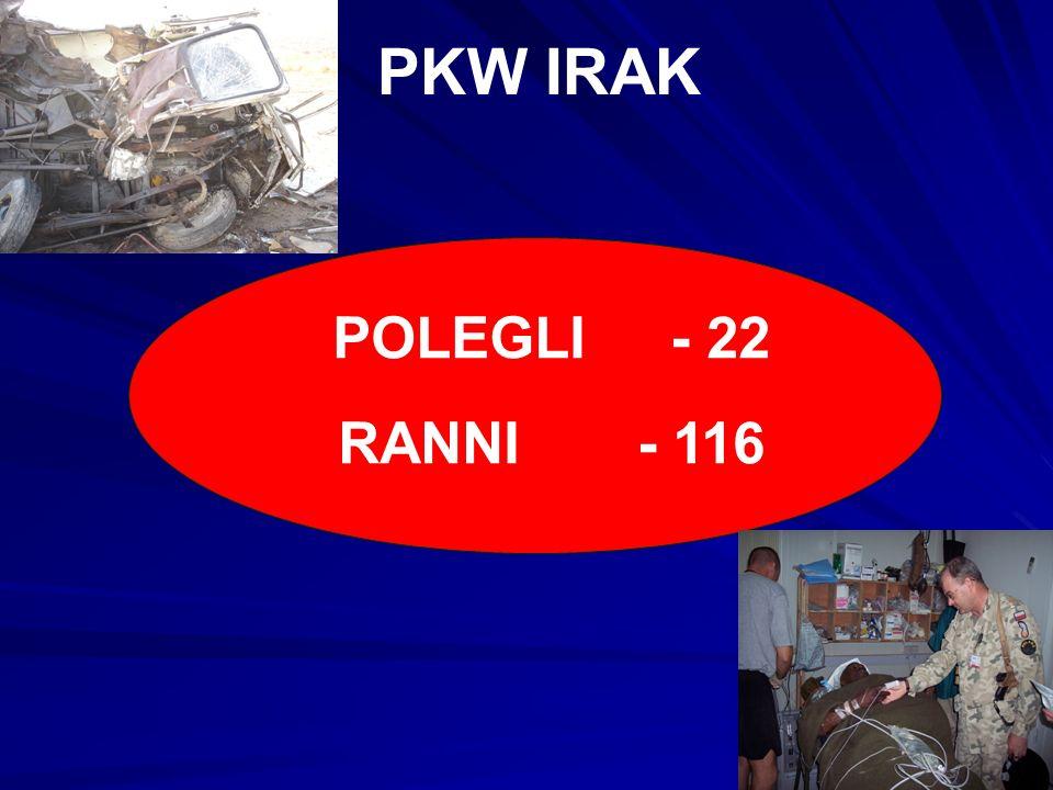 PKW IRAK POLEGLI - 22 RANNI - 116