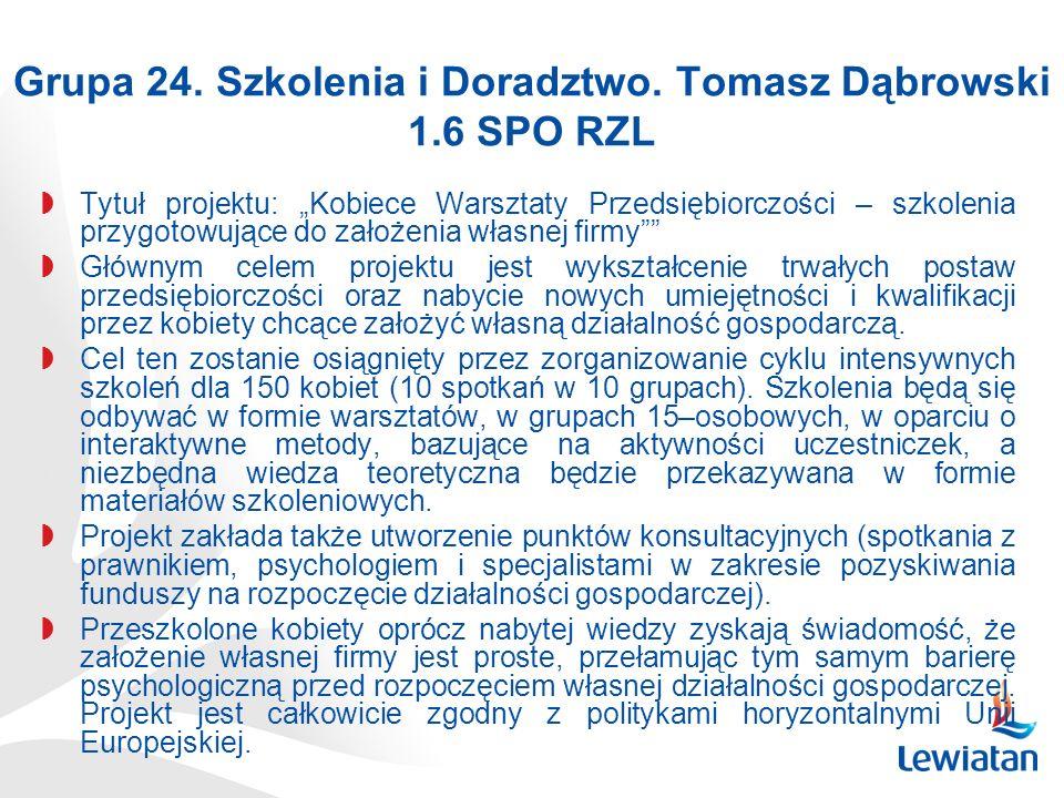 Grupa 24.Szkolenia i Doradztwo.