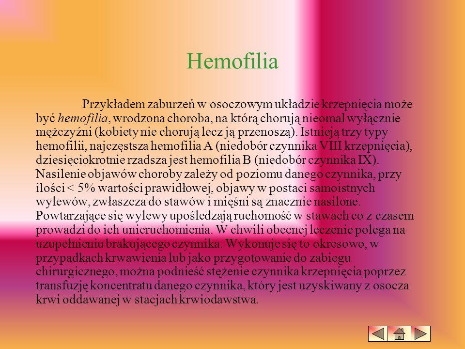 Niedokrwistość (Anemia) Właśnie niedokrwistości są najczęstszą z chorób hematologicznych.