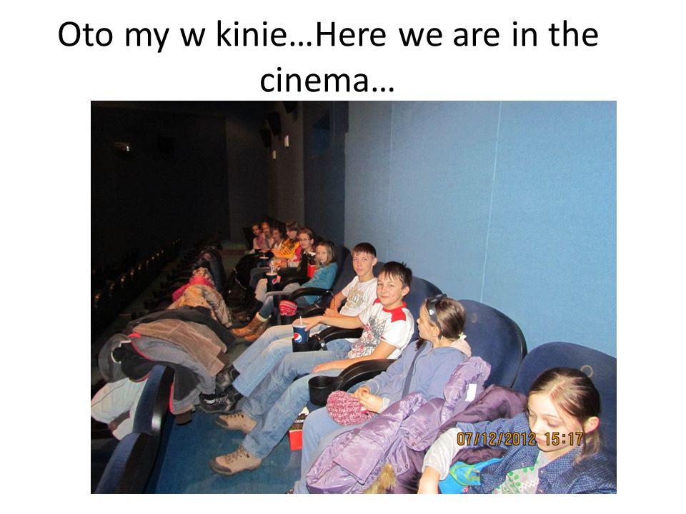 A po uczcie kinowej, polowanie na tajemnicze koperty… otrzymaliśmy je od pracowników kina.