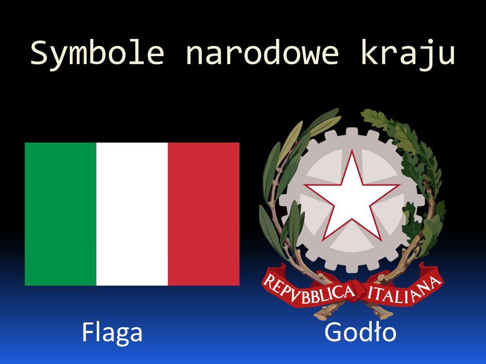 Symbole narodowe kraju FlagaGodło