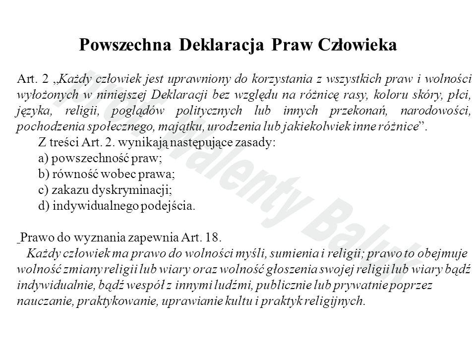 Międzynarodowy Pakt Praw Obywatelskich i Politycznych Art.