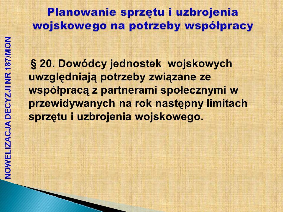 PLANY WSPÓŁPRACY SPORZ Ą DZANE W DWiPO ALE.