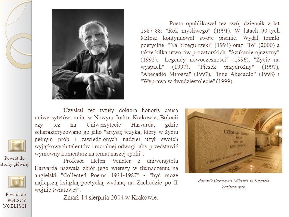 Uzyskał też tytuły doktora honoris causa uniwersytetów, m.in. w Nowym Jorku, Krakowie, Bolonii czy też na Uniwersytecie Harvarda, gdzie scharakteryzow