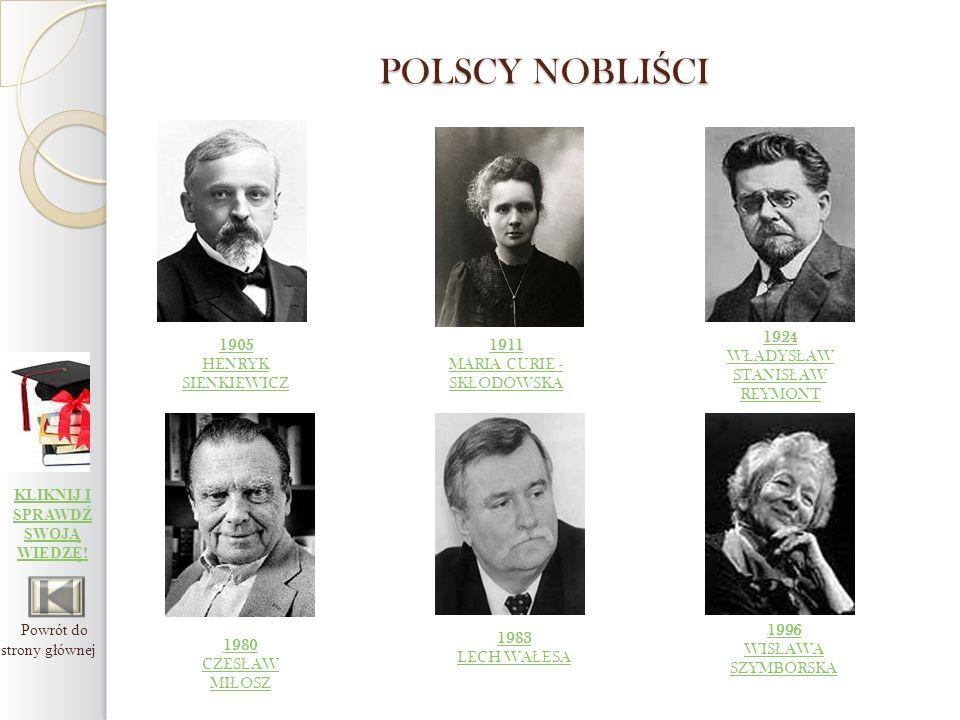 HENRYK SIENKIEWICZ polski powieściopisarz i nowelista.