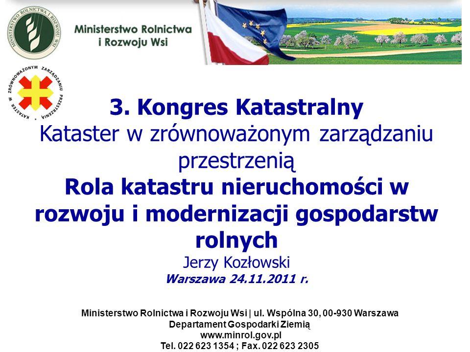 Kwiecień 2005 Ministerstwo Rolnictwa i Rozwoju Wsi | ul. Wspólna 30, 00-930 Warszawa Departament Gospodarki Ziemią www.minrol.gov.pl Tel. 022 623 1354