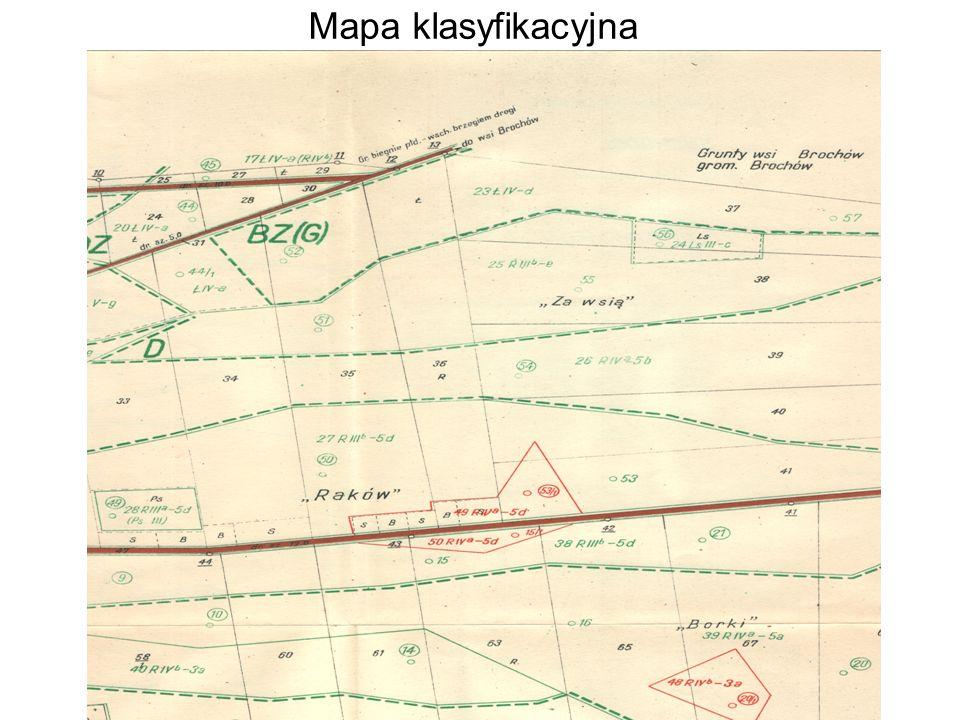 Mapa klasyfikacyjna