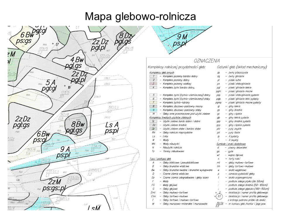 Mapa glebowo-rolnicza