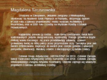 Anna Słonka-Moskwa Koziołki Bajki i legendy zazwyczaj kończą się zdaniem: i wszyscy żyli długo i szczęśliwie… Można więc pokusić się o interpretację d