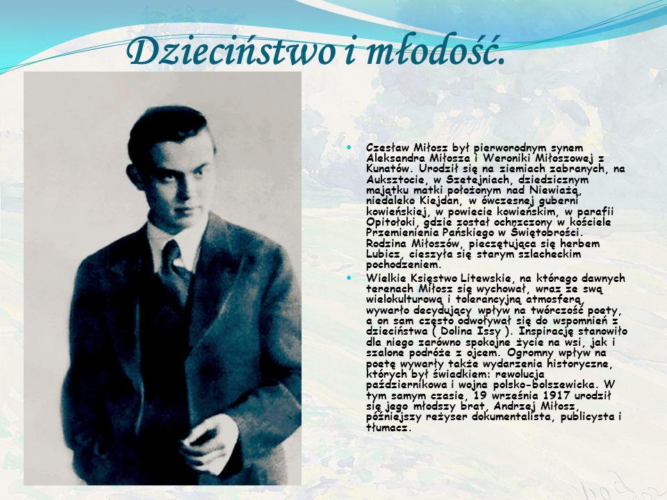 Ur. 30 czerwca 1911 w Szetejniach, zm. 14 sierpnia 2004 w Krakowie – polski prawnik i dyplomata, poeta, prozaik, eseista, historyk literatury, tłumacz