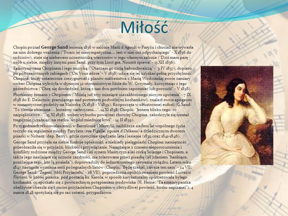 Chopin tworzył niemal wyłącznie utwory przeznaczone na fortepian, instrument typowy dla okresu romantyzmu muzycznego. Geniusz polskiego kompozytora pr
