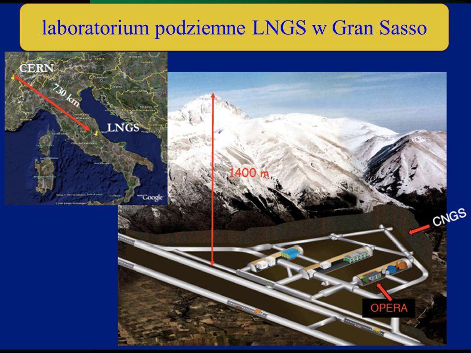 laboratorium podziemne LNGS w Gran Sasso
