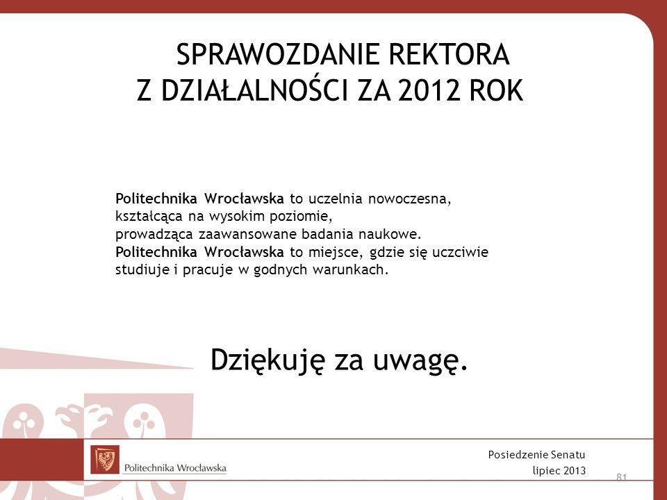 Politechnika Wrocławska to uczelnia nowoczesna, kształcąca na wysokim poziomie, prowadząca zaawansowane badania naukowe.