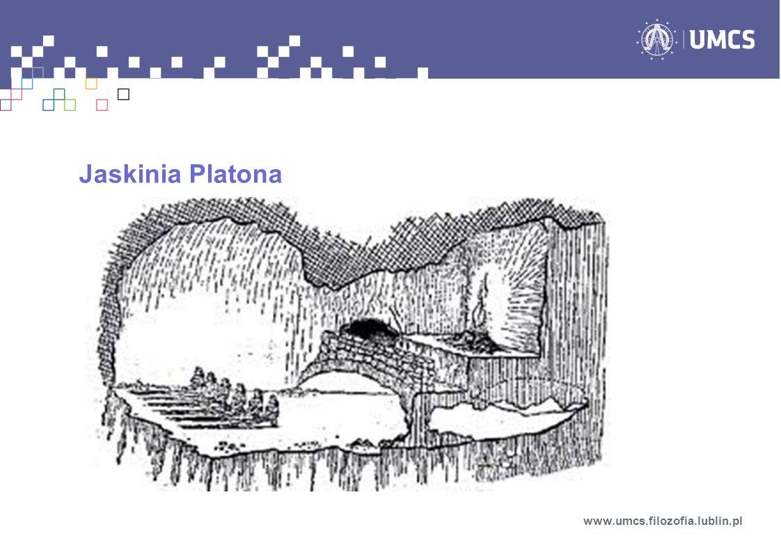 Jaskinia Platona www.umcs.filozofia.lublin.pl
