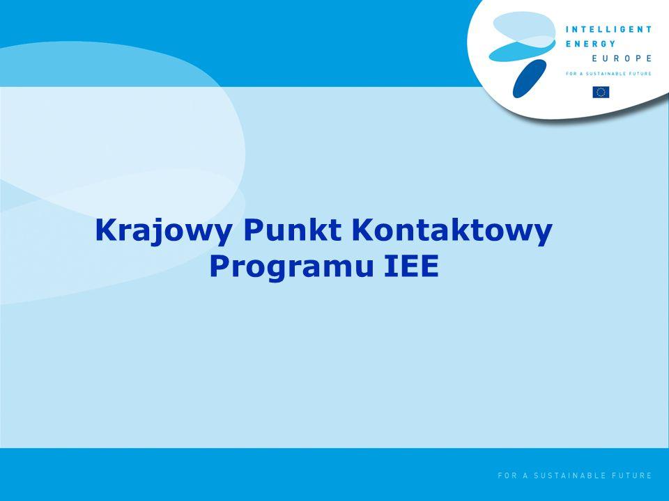 Krajowy Punkt Kontaktowy Programu IEE