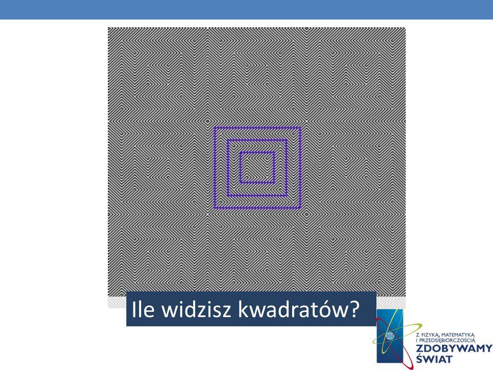 Ile widzisz kwadratów?