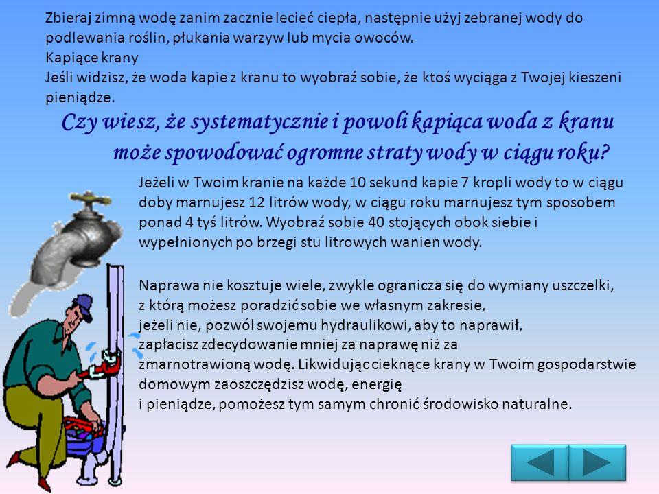 Cieknące spłuczki Woda płynąca z nieszczelnych spłuczek poważnie obciąża budżet domowy również, kiedy wszyscy domownicy śpią.