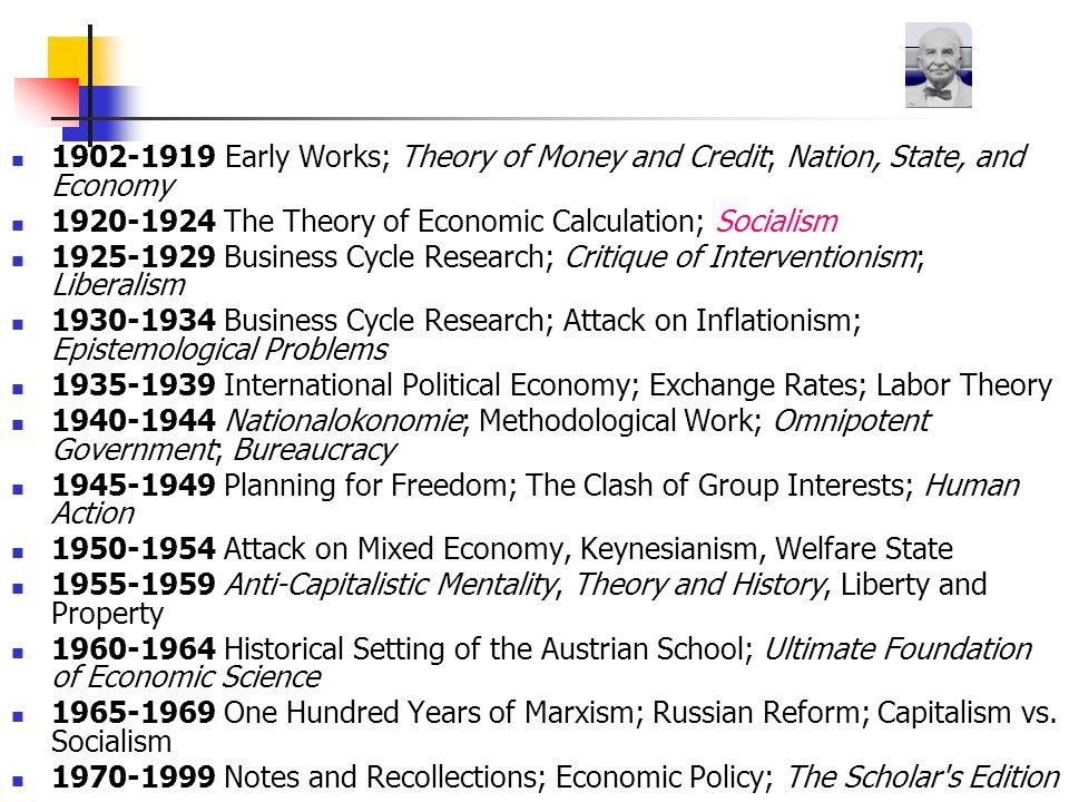 Mises, Front antykapitalistyczny Ludzie mogą zgadzać się, lub nie, z tym czy każdy powinien poważnie studiować ekonomię.