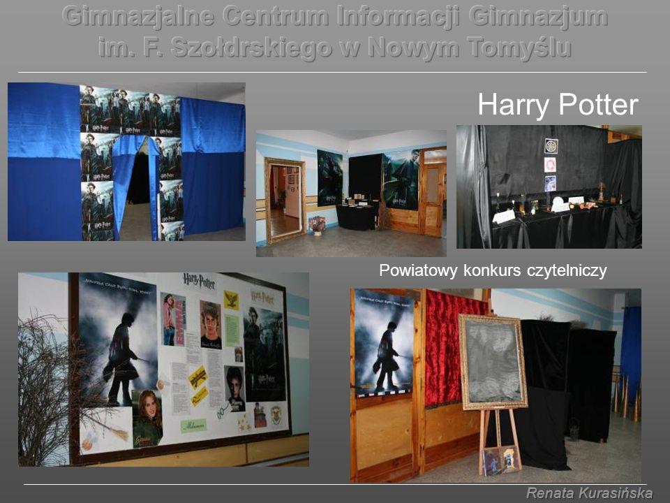Harry Potter Powiatowy konkurs czytelniczy