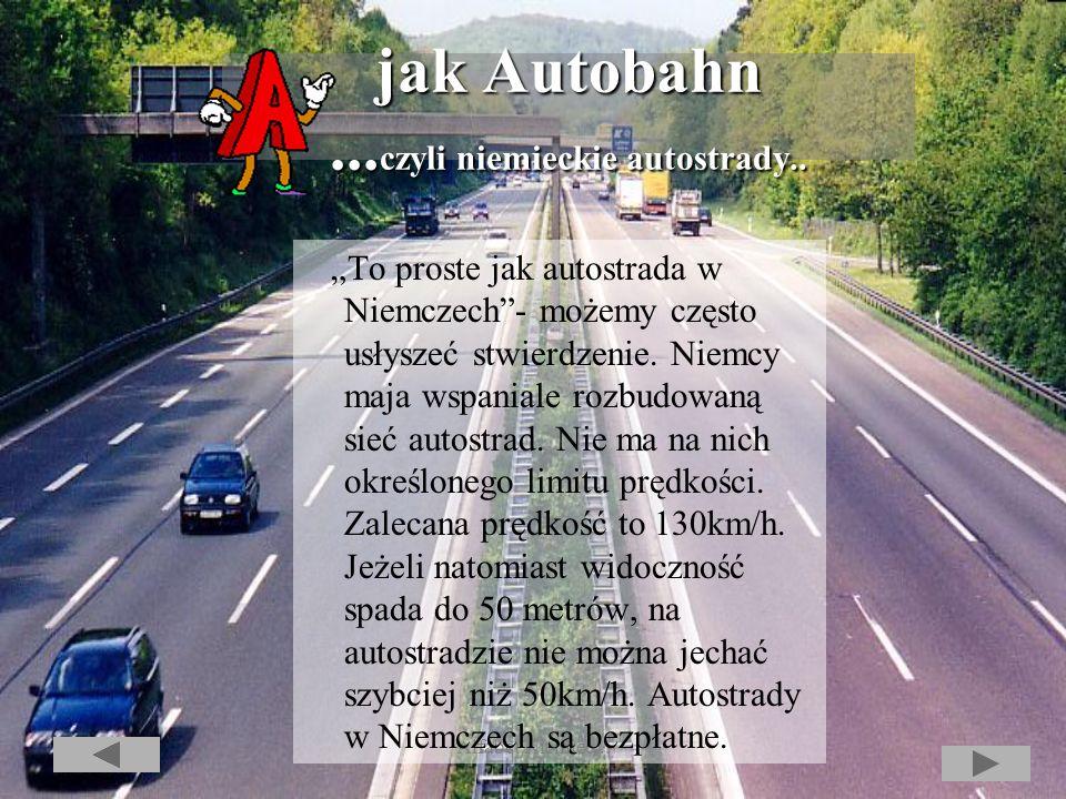 Alfabet Niemiec Alfabet Niemiec O autorze...czyli o Niemczech w wielkim skrócie..