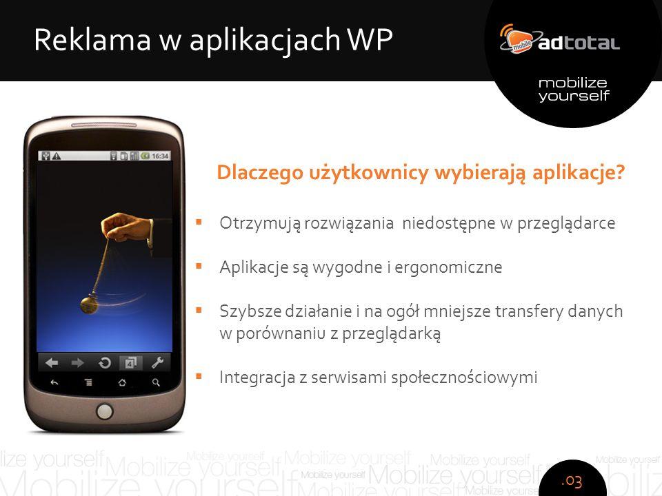 Copyright: Wirtualna Polska S.A. Dlaczego użytkownicy wybierają aplikacje.