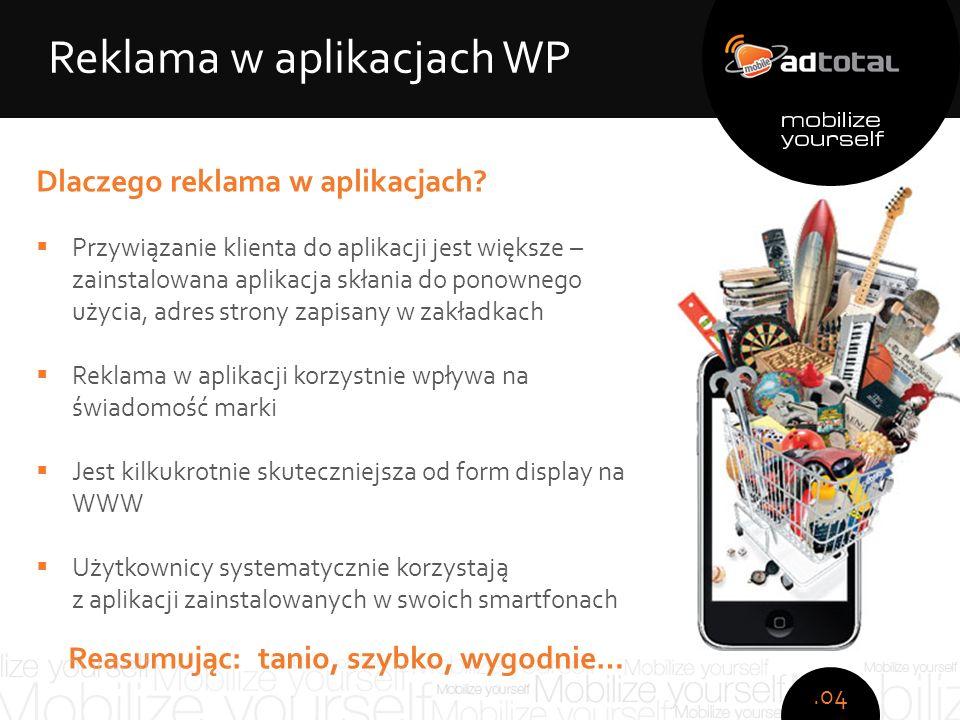 Copyright: Wirtualna Polska S.A. Dlaczego reklama w aplikacjach.