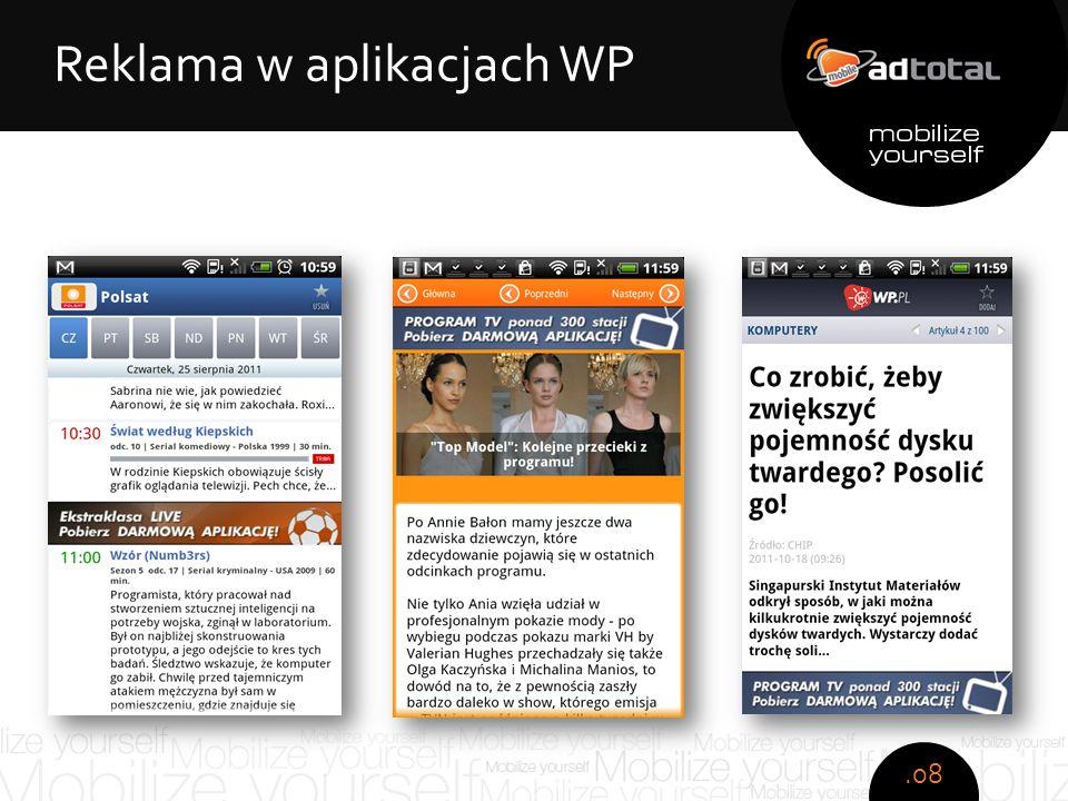 Copyright: Wirtualna Polska S.A. Zespół obsesyjno - kompulsywny Reklama w aplikacjach WP.08
