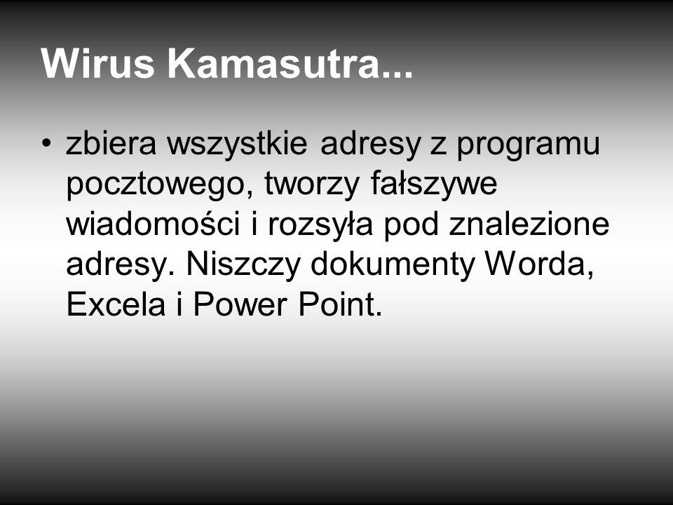 Wirus Kamasutra...