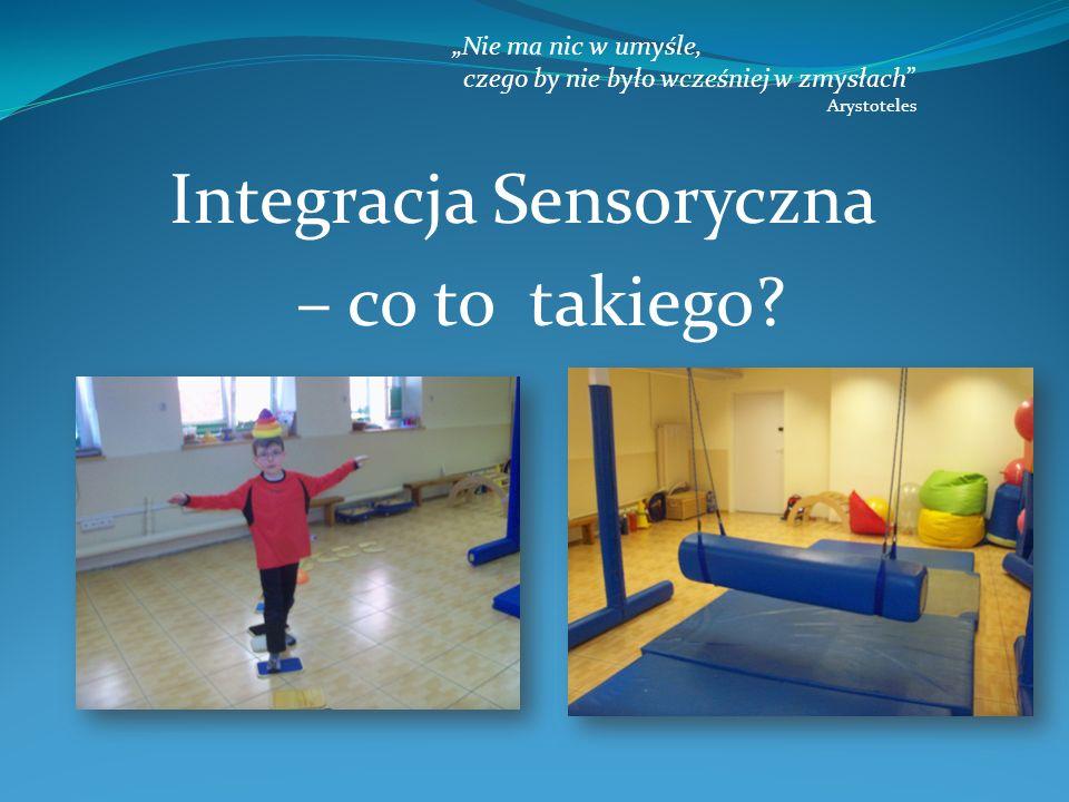 Metoda integracji sensorycznej została stworzona w 1960 przez amerykankę Jean Ayres.