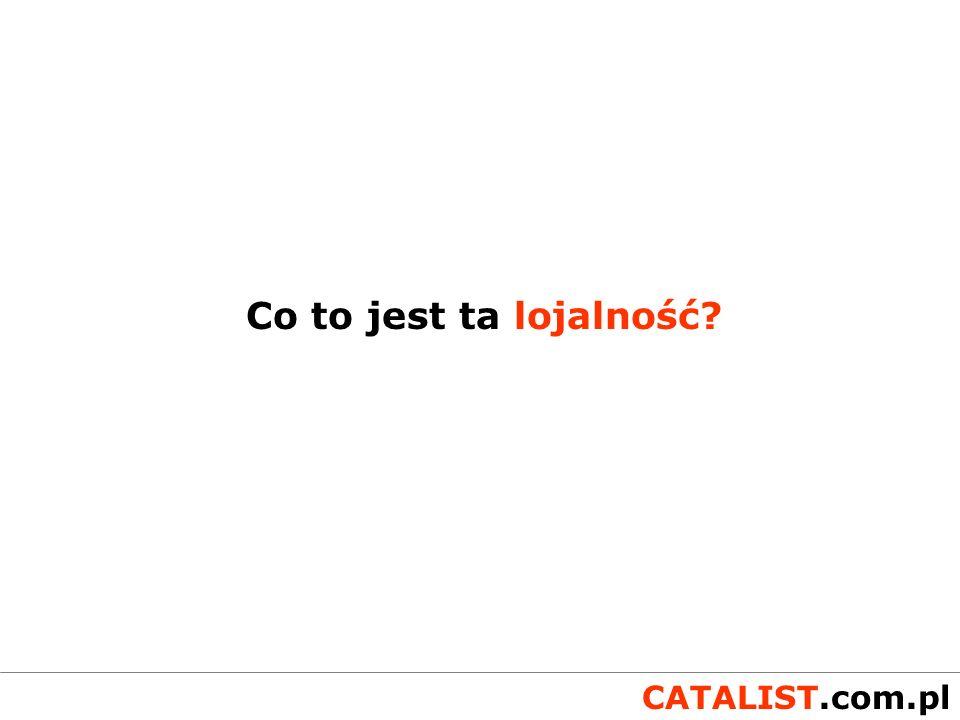 CATALIST.com.pl Zdobycie danych to połowa drogi niełatwa, ale dopiero połowa...