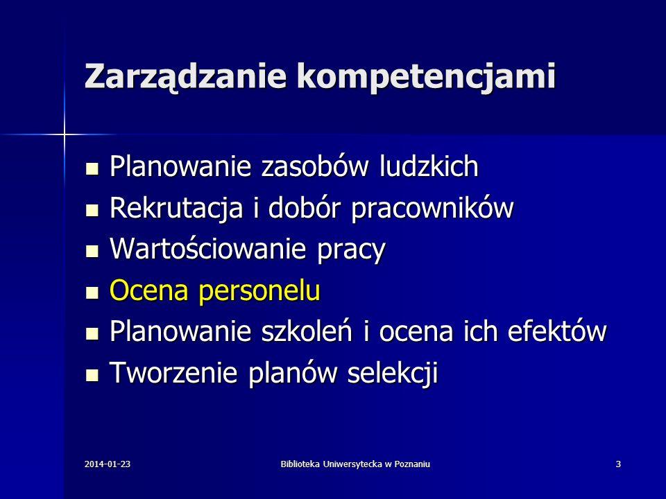 Dziękuję za uwagę Biblioteka Uniwersytecka w Poznaniu ul.