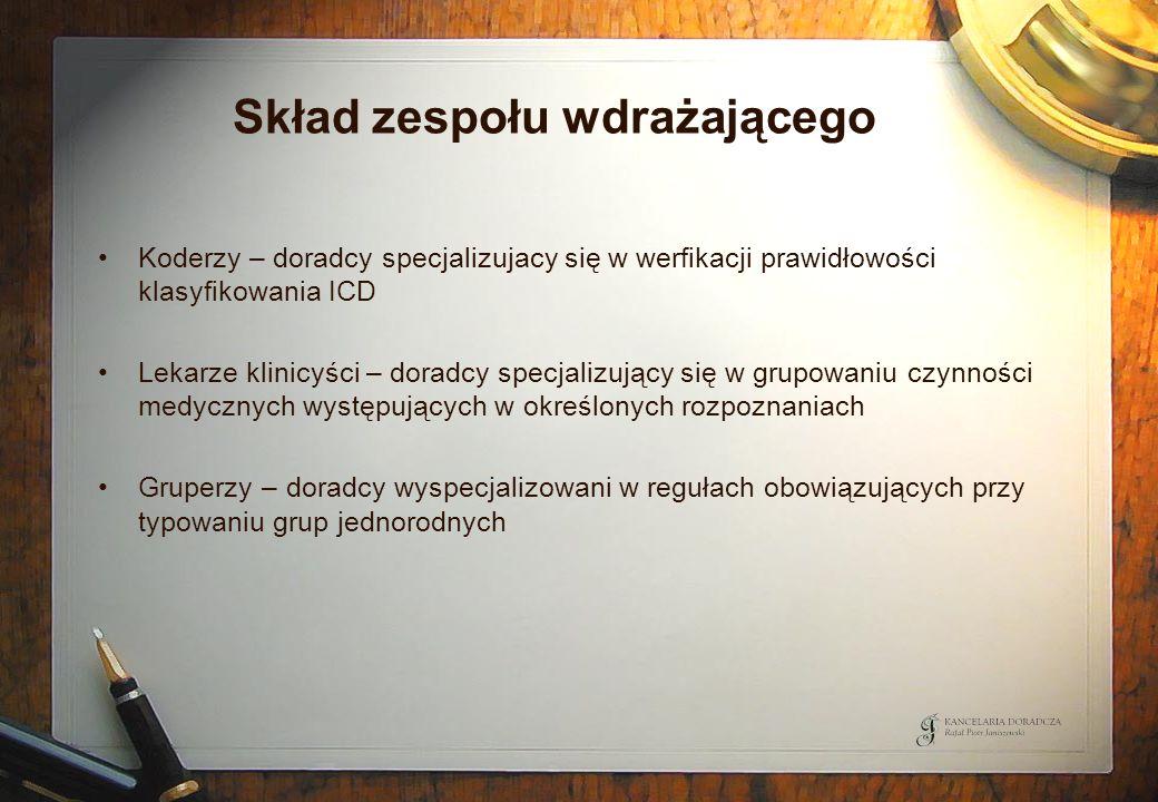 Przebieg procesu restrukturyzacji dla SP ZOZ dla kategorii C Biegły rewident Organ założycielski SP ZOZ BGK – agent SP Komitet Sterujący Wojewoda NFZ 13).