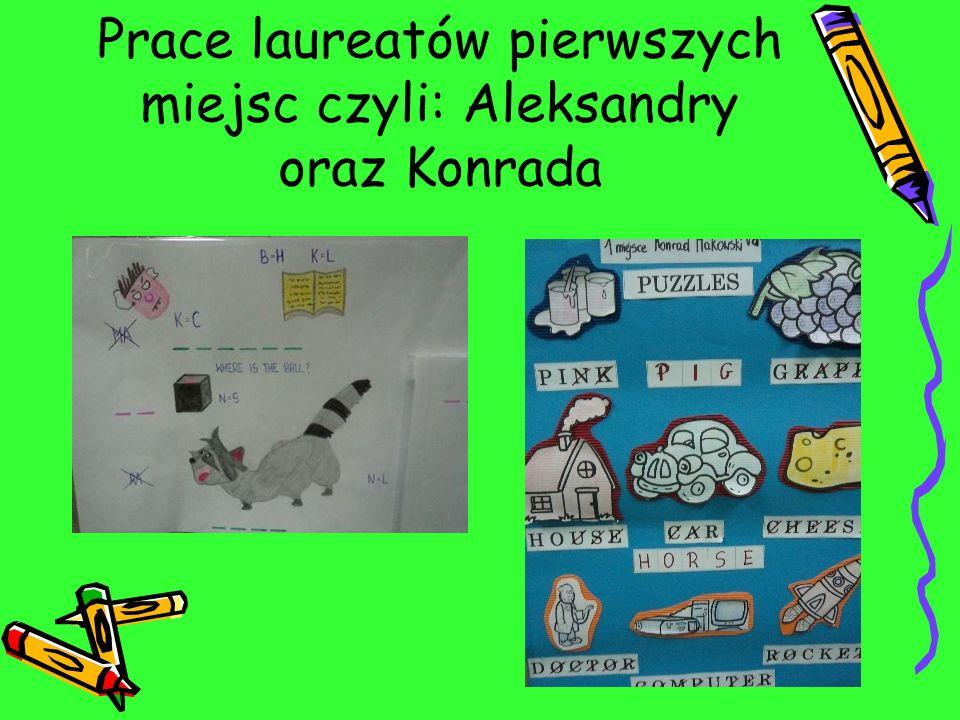 LAUREACI: I miejsce: Aleksandra Biniaś klasa 6B II miejsce: Nikodem Kluczyński klasa 6B III miejsce: Adrianna Szczecińska klasa 6C