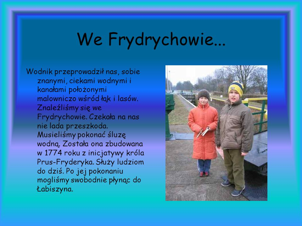 We Frydrychowie...