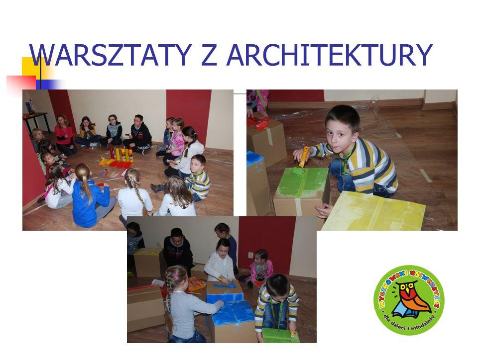 WARSZTATY Z ARCHITEKTURY