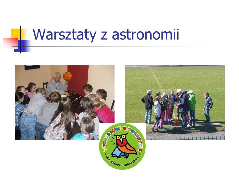 Warsztaty z astronomii