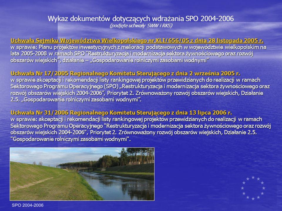 Uchwała Sejmiku Województwa Wielkopolskiego nr XLI/656/05 z dnia 28 listopada 2005 r.