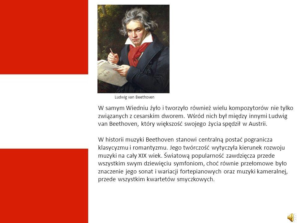 W samym Wiedniu żyło i tworzyło również wielu kompozytorów nie tylko związanych z cesarskim dworem.