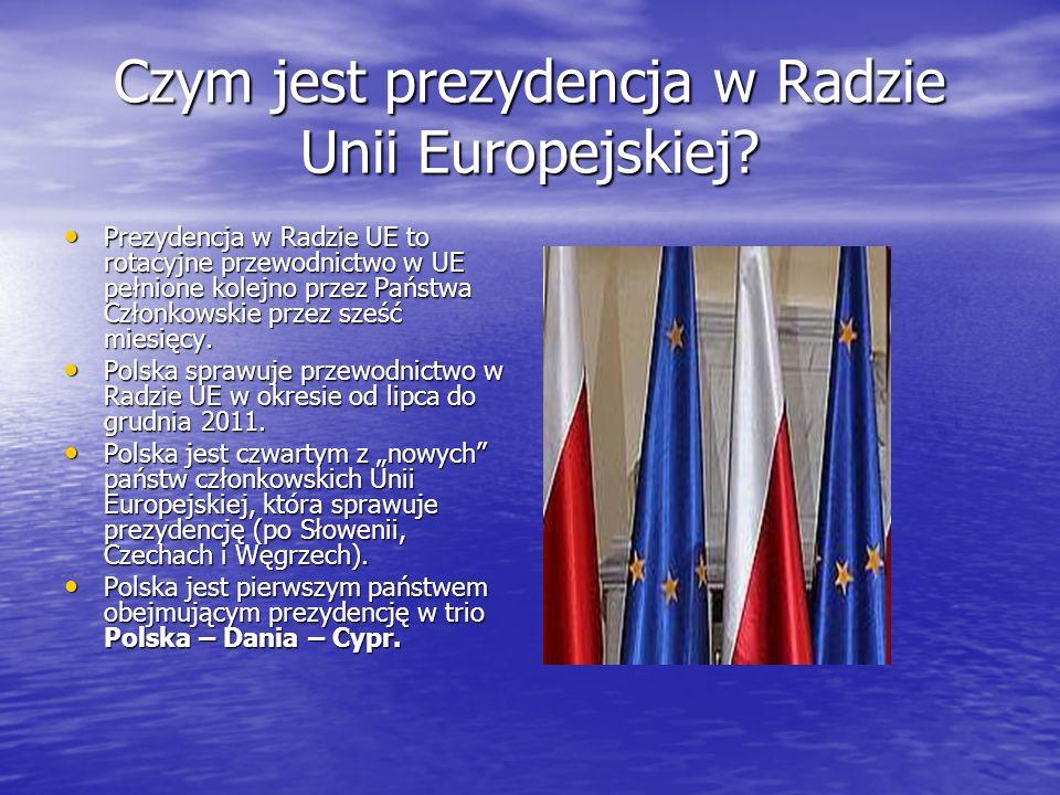 Czym jest prezydencja w Radzie Unii Europejskiej? Prezydencja w Radzie UE to rotacyjne przewodnictwo w UE pełnione kolejno przez Państwa Członkowskie