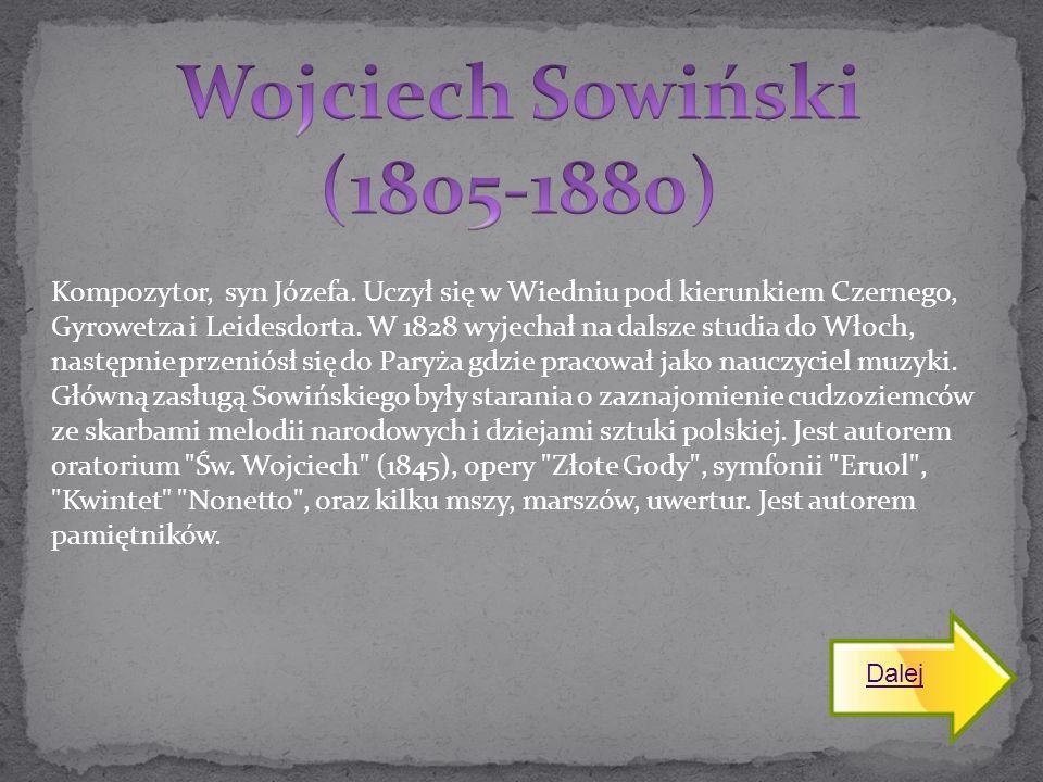 Kompozytor, syn Józefa. Uczył się w Wiedniu pod kierunkiem Czernego, Gyrowetza i Leidesdorta. W 1828 wyjechał na dalsze studia do Włoch, następnie prz