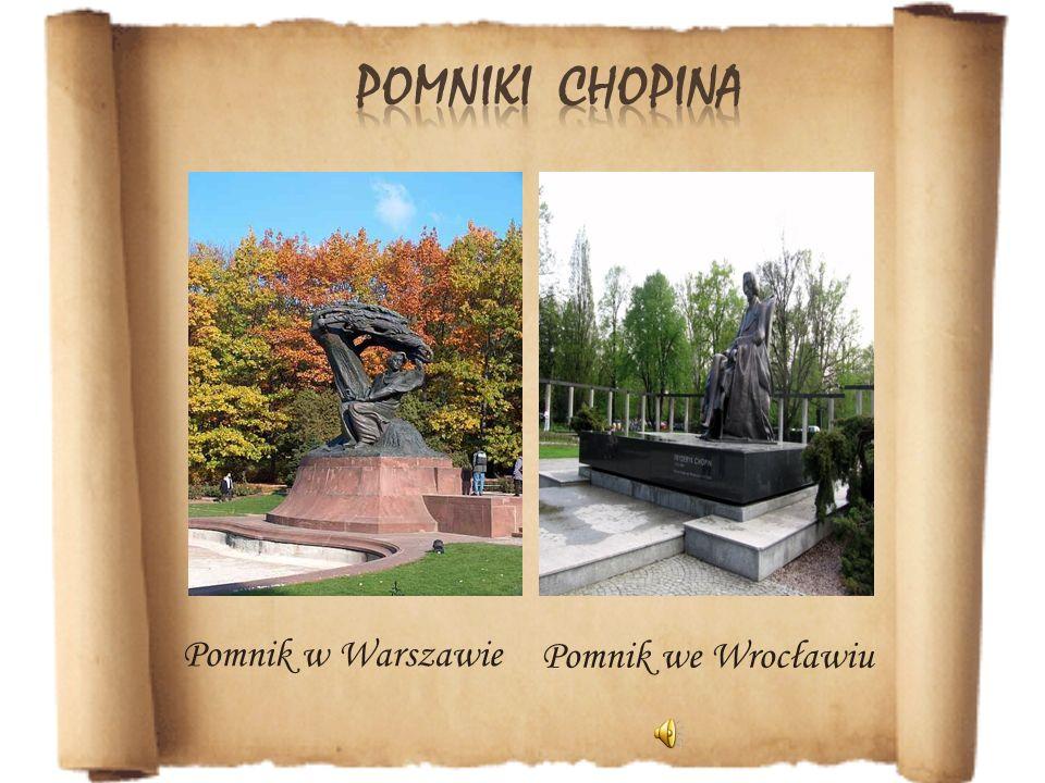 Pomnik we Wrocławiu Pomnik w Warszawie