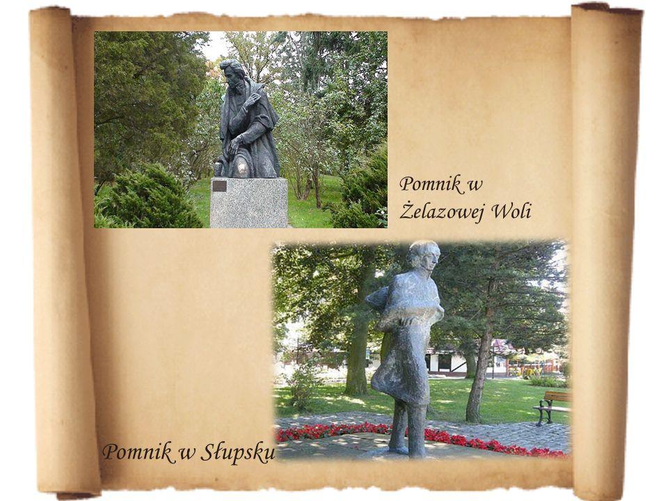 Pomnik w Żelazowej Woli Pomnik w Słupsku