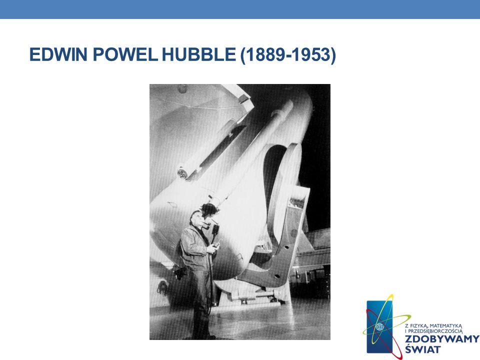 EDWIN POWEL HUBBLE (1889-1953)