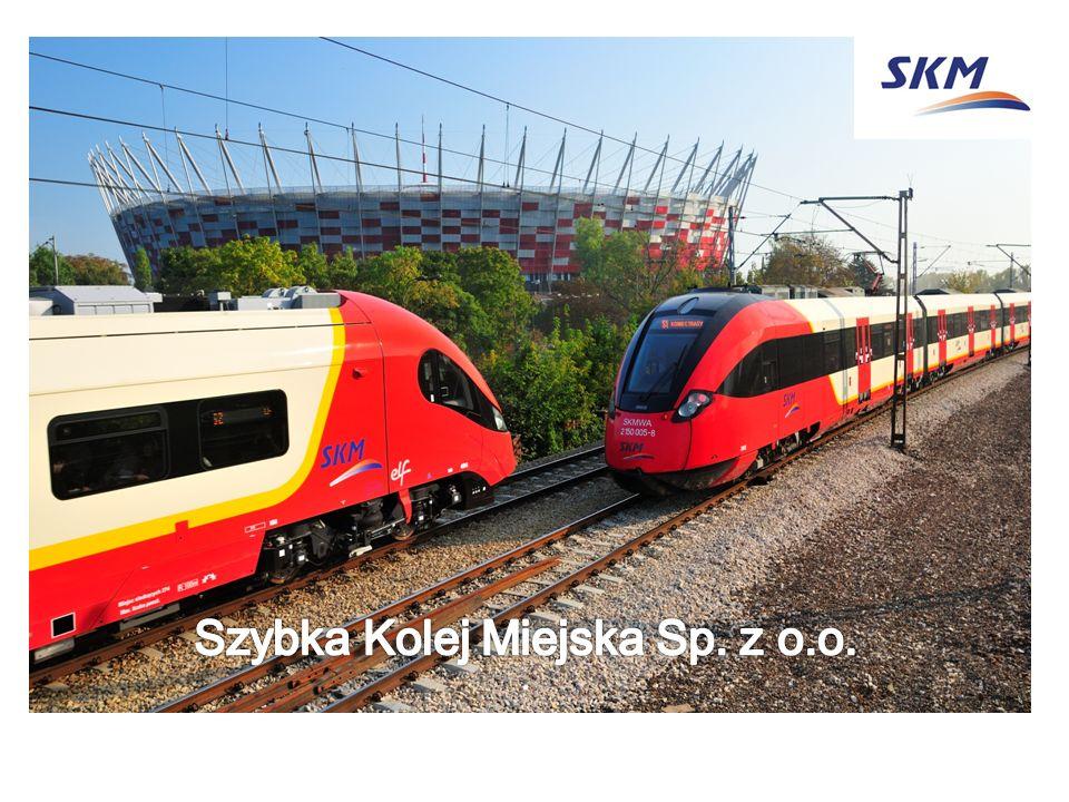 Informacje o SKM Szybka Kolej Miejska Wpisana do rejestru przedsiębiorstw w 2004r.